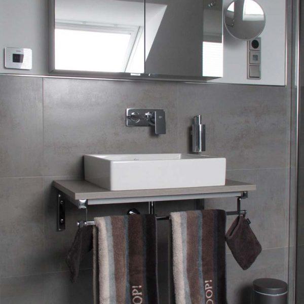 Nachher – Waschbecken