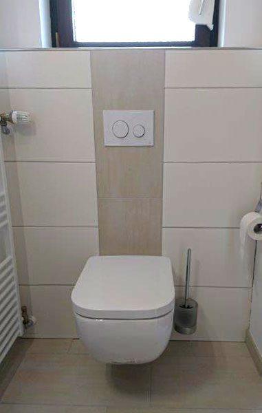 Nachher – Moderne Toilette