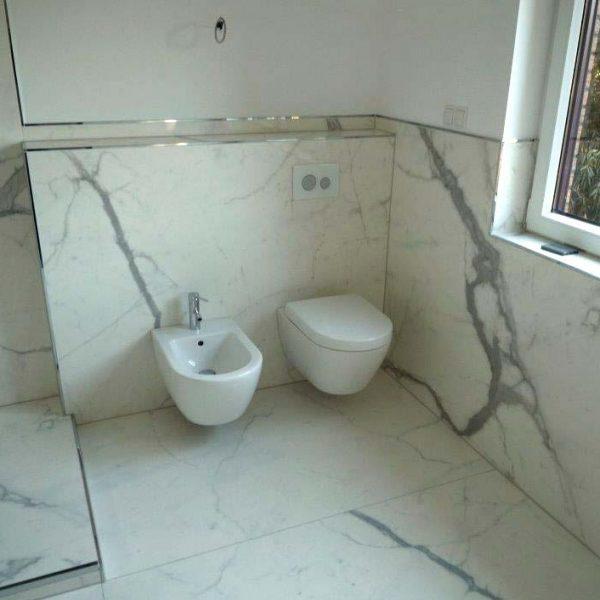 Nachher – Toilette und Bidet