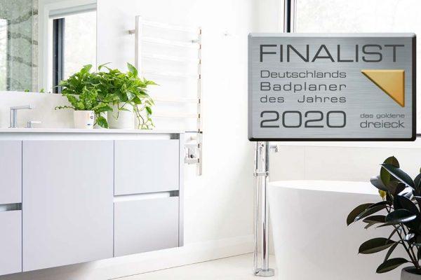 Badezimmer mit Auszeichnung als Badplaner des Jahres 2020