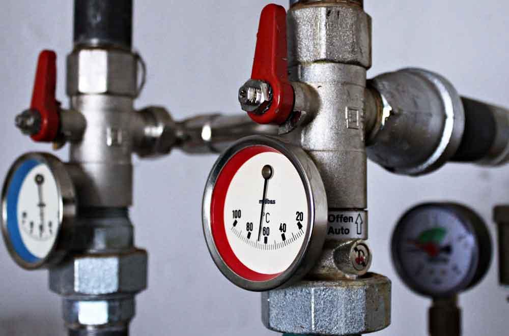 Erdgas-Umstellung einer Gasheizung