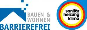 Logo Bauen und Wohnen barrierefrei