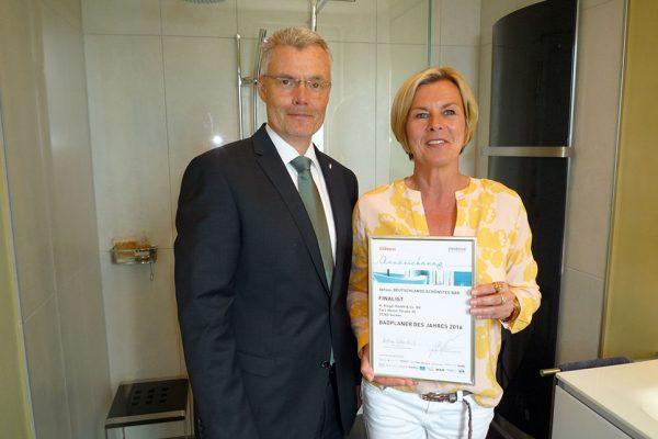 Anke Ringel mit Zertifikat Badplaner 2016